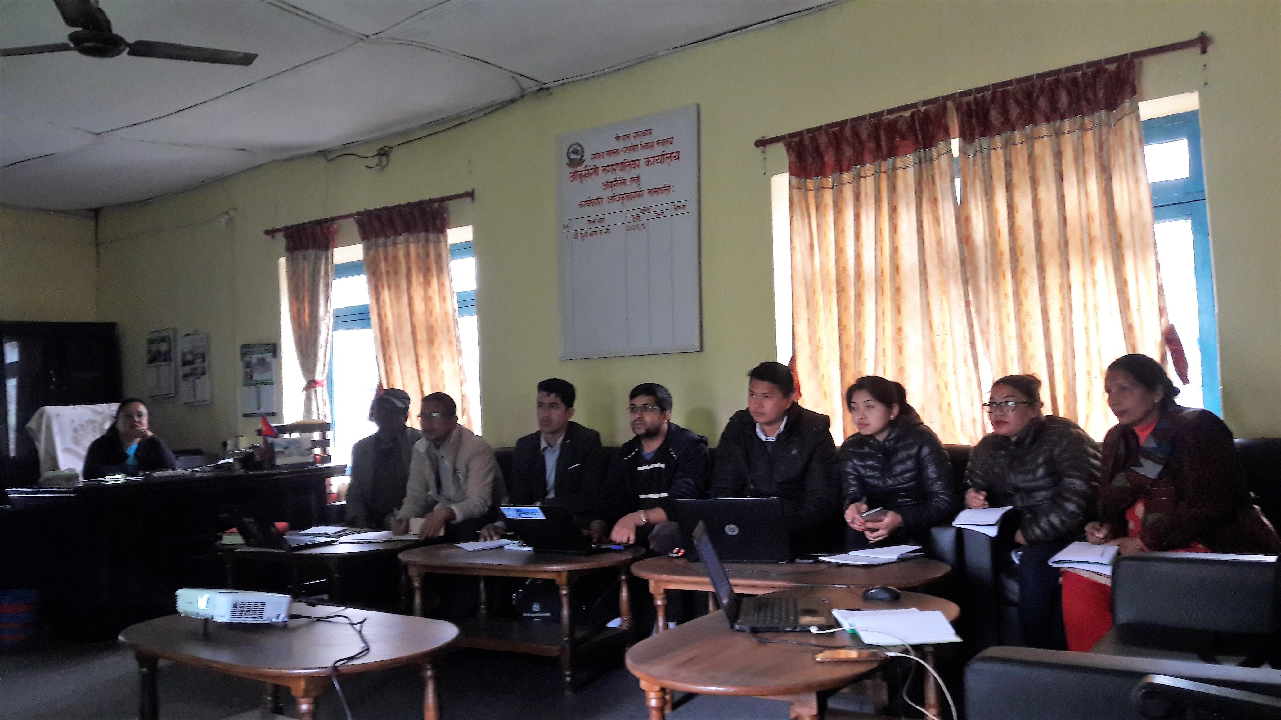 Website Training Participants